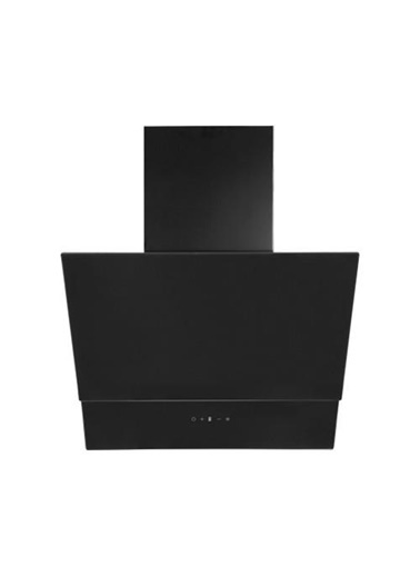 Oscar T 5659 Sm 60 Cm Eğimli Siyah Cam Ankastre Davlumbaz Siyah
